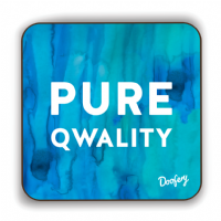 Doofery - Pure Qwality - Coaster - Blue
